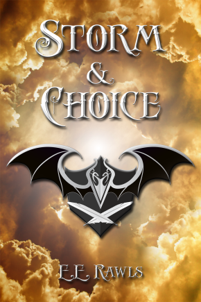 Draev Guardians, author E.E. Rawls, Storm and Choice book, coming of age fantasy books, ya fantasy books 2019, fantasy books 2020, magic fantasy books, elemental books, elemental fantasy book series, Aken-Shou, Cyrus Sole, fantasy book characters, high fantasy book series 2019,