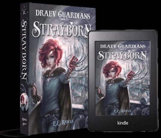Strayborn, Draev Guardians, books like Percy Jackson, books like Harry Potter, fantasy and magic books, fantasy books for kids, books like Ranger's Apprentice, books like Mistborn, author E.E. Rawls,