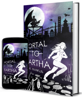 portal to eartha, author E.E. Rawls, new fantasy books, new paranormal fantasy books, paranormal scifi books, books in japan, books taking place in japan, books like anime, anime like books,