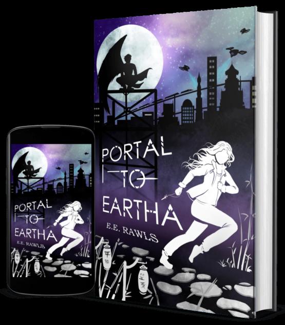 portal to eartha, author E.E. Rawls, new fantasy books, new paranormal fantasy books, paranormal scifi books, books in japan, books taking place in japan, books like anime, anime like books,